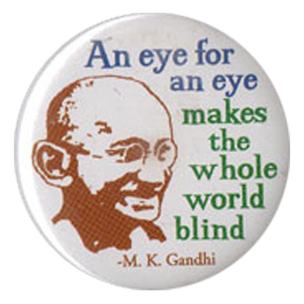 an eye for an eye makes the world blind essay