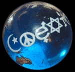 NV002 - Coexist World Earth Marble