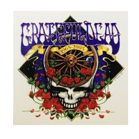 A082 - Grateful Dead Forty Years Art Decal Window Sticker