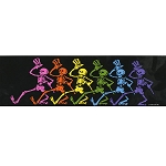 A102 - Rainbow Skeletons Art Decal