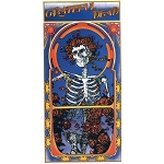 A118 - Grateful Dead Skeleton & Roses Album Cover Art Decal Window Sticker