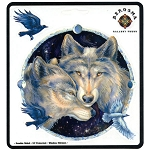 A154 - Bergsma Wolves Art Decal Window Sticker