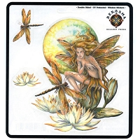 A206 - Wild Magic Art Decal Window Sticker