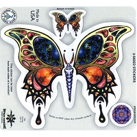 A220 - Fractal Butterfly Art Decal