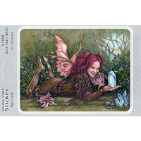 A238 - Crystal Pink Fairy Art Decal
