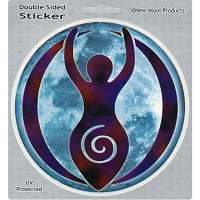 A264 - Moon Goddess Art Decal