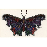 A300 - Mosaic Butterfly Art Decal