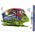 A376 - Turtle Bus Art Decal