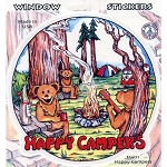 A379 - Happy Campers Art Decal