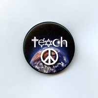 B046 - Teach Peace Button
