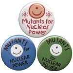 B069 - Mutants For Nuclear Power Button