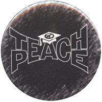 B383 - Teach peace Button
