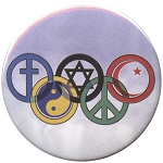 B452 - SymbOlympics Interfaith Pin-Back Button