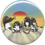 B456 - Rasta Penguins Button
