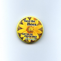 B483 - Save The Bees Button