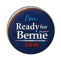 B487 - Ready for Bernie Sanders 2016 Button