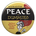B099 - Peace for Dummies Button