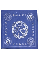 BD001 - Believe in Love and Peace Golden Rules Bandanna