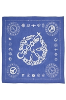 BD003 - Original Coexist Symbols Golden Rules Bandanna Dog Scarf