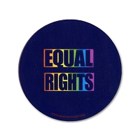 CM015 - EQUAL RIGHTS Equal Symbol Color Mini Sticker