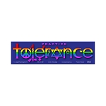 CM020 - Practice Tolerance Rainbow Interfaith Color Mini Sticker