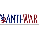 CS025 - Anti-War Large Full Color Bumper Sticker