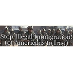 CS026 - Illegal Immigration Large Full Color Bumper Sticker
