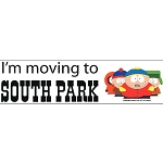 CS079 - South Park Large Full Color Bumper Sticker