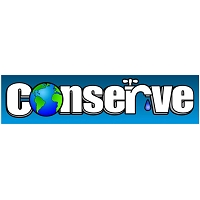 CS093 - Conserve Water Bumper Sticker