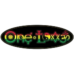 CM013 - One Love Interfaith Symbols Rasta Full Color Oval Mini Sticker