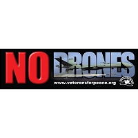 CS143 - NO DRONES Bumper Sticker