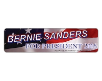 CS155-C - Bernie Sanders 2016 Color Sticker