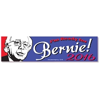 CS155 - Bernie Sanders 2016 Color Sticker