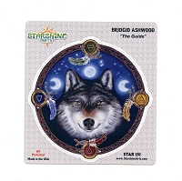 CS160 The Guide Wolf Dream-catcher Native Brigid Ashwood Decal Sticker