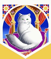 FLG034 - Persian Cat Flag