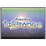 FM002 - Practice Tolerance Fridge Magnet