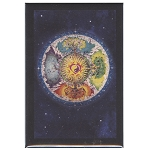 FM067 - Four Seasons Mandala Fridge Magnet