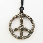 J056 - Small Peace Roses Pendant