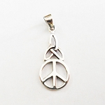 J137 - Sterling Celtic Peace Pendant