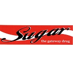 MS101 - Sugar Gateway Drug Mini Sticker