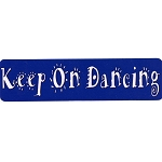 MS103 - Keep on Dancing Mini Sticker