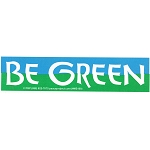 MS109 - Be Green Mini Sticker