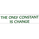 MS113 - The Only Constant is Change Mini Sticker