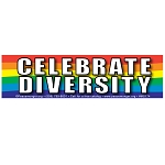 CM005 - Celebrate Diversity Rainbow Full Color Mini Sticker