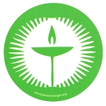 MS188 - Unitarian Chalice Single Symbol Mini Sticker