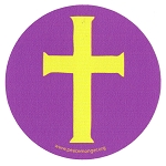 MS193 - Christian Cross Single Symbol Mini Sticker