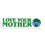 MS233 - Love Your Mother Mini Sticker