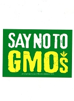 MS234 - Say No to GMOs Mini Sticker