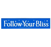 MS240 -Follow Your Bliss Mini Sticker