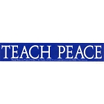 MS26 - Teach Peace Mini Sticker